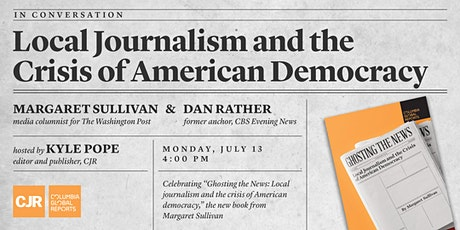 Local Journalism and the Crisis of American Democracy tickets