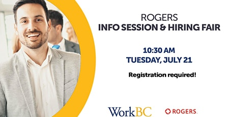 Rogers - Info Session & Hiring Fair tickets