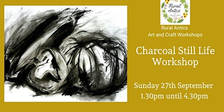 Charcoal Still Life Workshop tickets