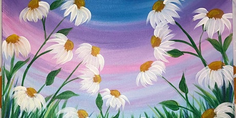 Social Distancing-Paint Party-Summer Daisies tickets