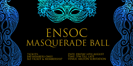 ENSOC Presents: Masquerade Ball tickets