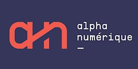 AlphaNumérique webinaire 3 - Présentation des outils et du site internet.25 billets