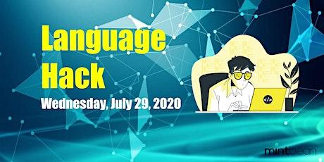 Mintbean Hackathons: Language Hack Tickets