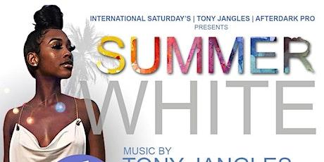 Summer white tickets