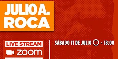 CLUB DE LA LIBERTAD - HOMENAJE A JULIO ARGENTINO ROCA boletos