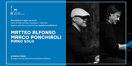 Matteo Alfonso / Marco Ponchiroli @ Jazz Area Metropolitana 2020 – Dolo biglietti