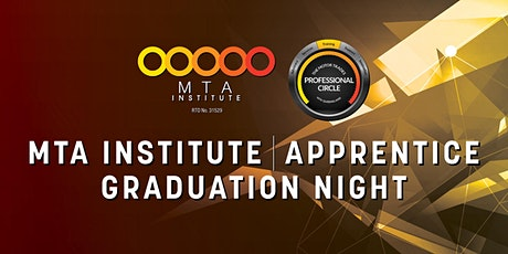 MTA Institute 2020 Apprentice Graduation Night tickets
