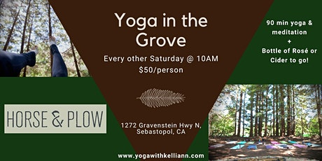 Yoga in the Grove tickets