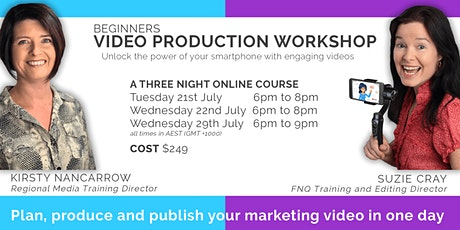 Beginners Smartphone Video Production - Plan, Produce & Publish (ONLINE) tickets