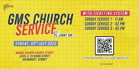 Sunday Live Service 1 (w/ Eagle Kidz) @ 11am  - 5th July 2020 tickets