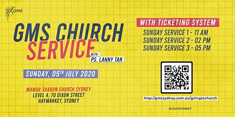 Sunday Live Service 2 @ 2pm - 5th July 2020 tickets