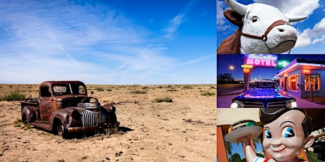 Virtual Road Trip Down Route 66 with Pro Photographer Julien McRoberts tickets