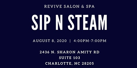 Revive Salon & Spa Sip N Steam tickets