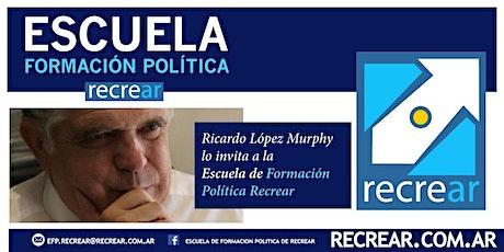 Ricardo López Murphy lo invita a la Escuela de Formación Política Recrear boletos