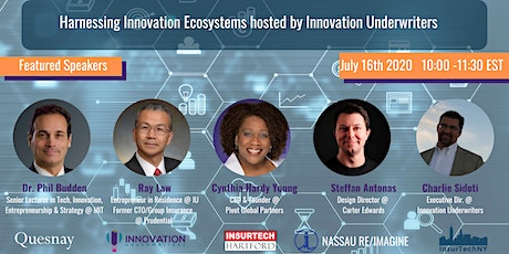 Harnessing Innovation Ecosystems hosted by Innovation Underwriters tickets