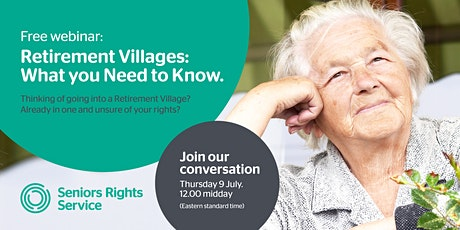 Retirement Villages: What You Need To Know tickets