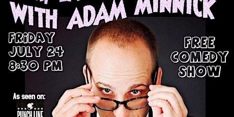 Beer, Laundry & Jokes with Adam Minnick tickets