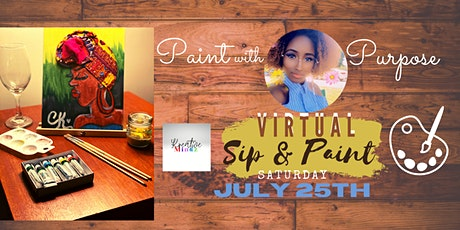 """""""Paint with Purpose""""-ALL INCLUSIVE SIP & PAINT w/ Courtlandt Christianson tickets"""