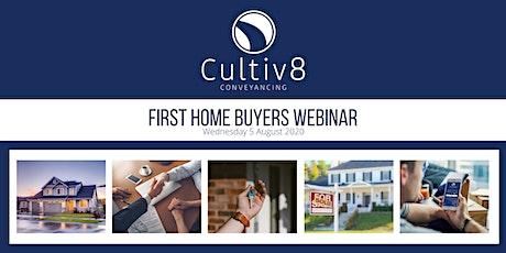 First Home Buyers Webinar tickets