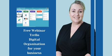 (Free Webinar)Trello - Digital Organisation for your Business tickets