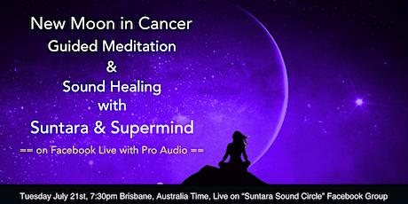 Meditation and Sound Healing with Stephen Graham (Supermind)  and Suntara tickets