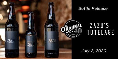 Zazu's Tutelage Bottle Release tickets