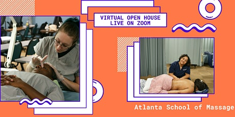 Virtual Open House at Atlanta School of Massage tickets