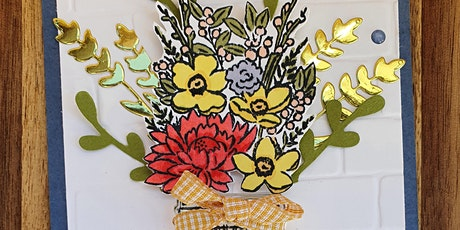 Get Creative ! Bumblebee Cards & Paper Craft Gifts - July Card Making Class tickets
