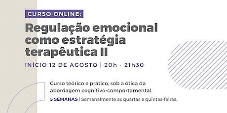 Regulação Emocional como estratégia terapêutica II bilhetes