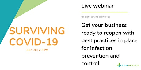 Infection Prevention and Control Awareness For Businesses  tickets