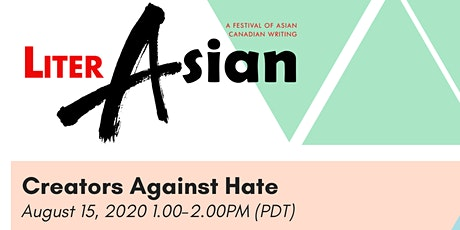 LiterASIAN 2020 - Creators Against Hate tickets