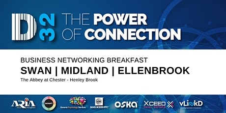 District32 Business Networking Perth – Swan / Midland - Fri 07th Aug tickets