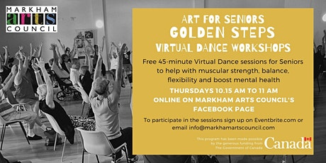 Art for Seniors - Golden Steps tickets