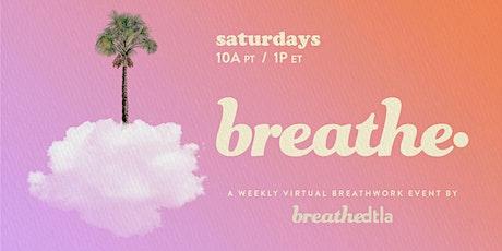 BREATHE. Breathwork tickets
