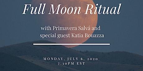 FULL MOON RITUAL with Primavera Salva and Special Guest Katia Bouazza tickets