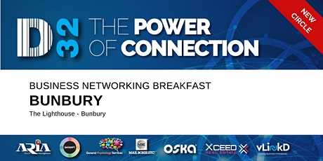 District32 Business Networking Perth – Bunbury - Tue 25th Aug tickets