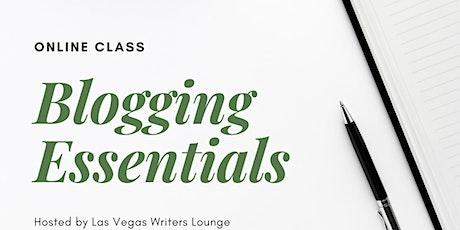 Blogging Essentials tickets
