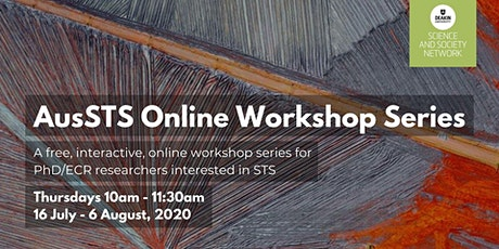 AusSTS 2020 Online Workshop Series: Participating in Research Now tickets