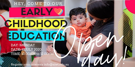 OPEN DAY for Early Childhood Education and Care! tickets