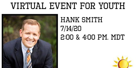 """Enlist a """"Virtual"""" Event For Youth Ages 11-17 with Hank Smith tickets"""