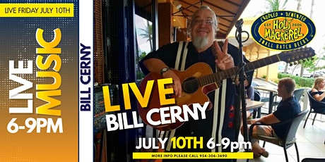 Live Music night with Bill Cerny at Holy Mackerel tickets