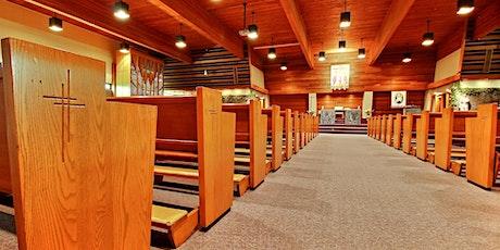 Messe hebdomadaire paroisse Précieux-Sang tickets