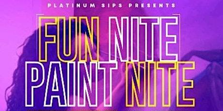 Platinum Sips presents: Fun Nite Paint Nite tickets