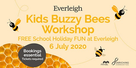 Everleigh Buzzy Bees Workshop No. 2 -	12pm tickets