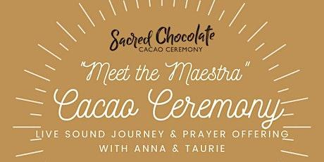 Cacao Ceremony & Sound Journey tickets