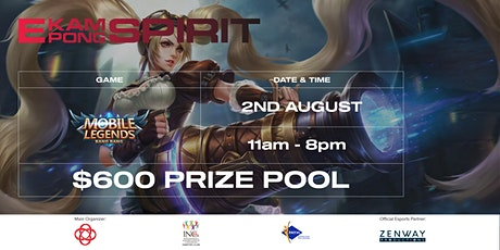E-Kampong Spirit - Mobile Legends Bang Bang Online Tournament tickets