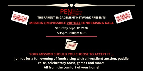 PEN's Virtual Mission (Im)Possible Fundraiser tickets