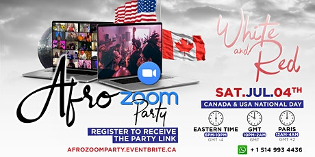 AFRO ZOOM PARTY ▲ Virtual Party ▲ 50 FREE TICKETS tickets