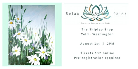 Relax and Paint at The Shiplap Shop tickets