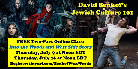 FREE Sondheim Course: Into the Woods (July 9) and West Side Story (July 16) tickets